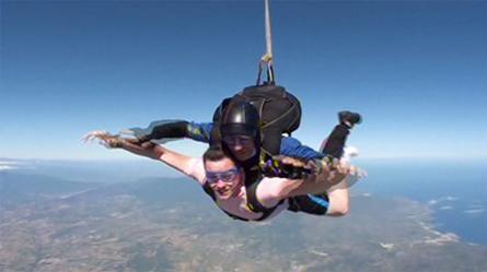 Michael-skydive