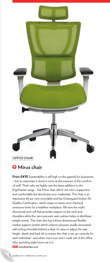 Mirus Office Chair Review - Executive PA